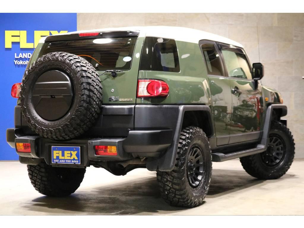 社外HDDナビ&ETC車載器!リアワイパー!サイドバイザー!プライバシーガラス!サイドステップ! | トヨタ FJクルーザー 4.0 4WD