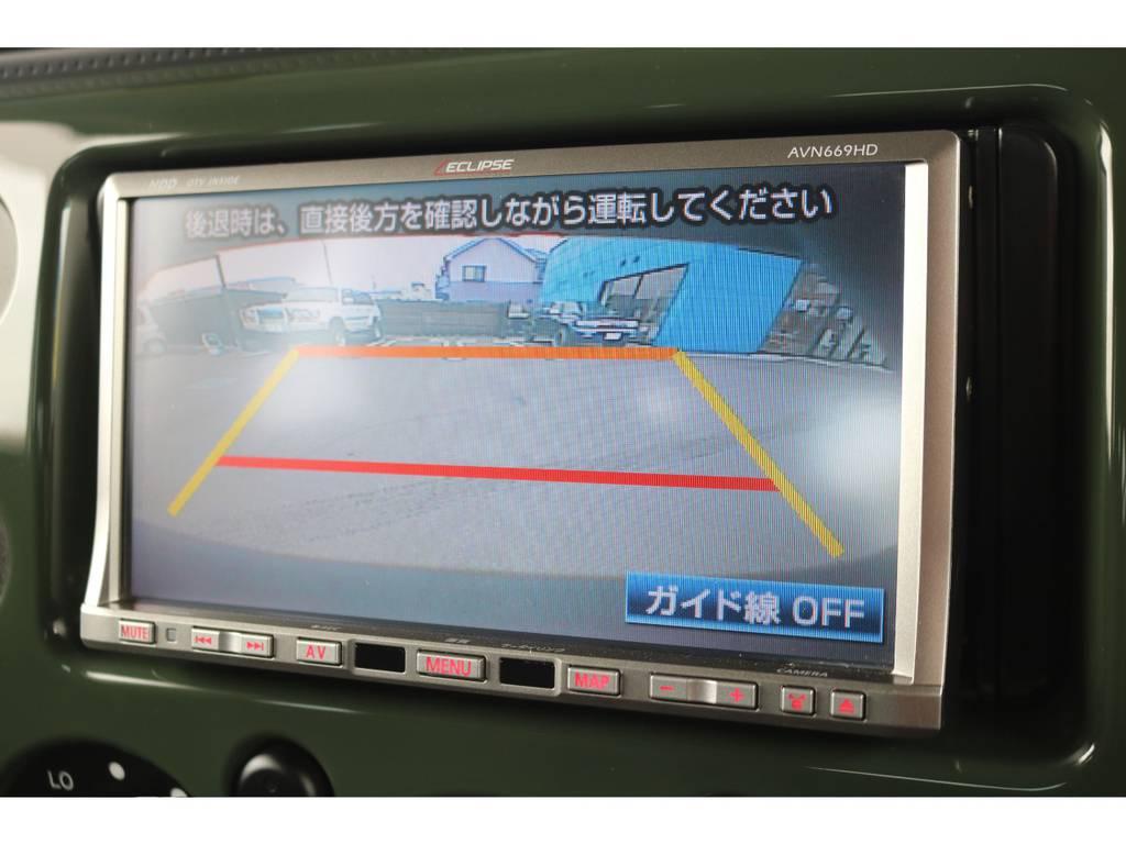社外HDDナビ&バックカメラ&ETC車載器も付いております! | トヨタ FJクルーザー 4.0 4WD