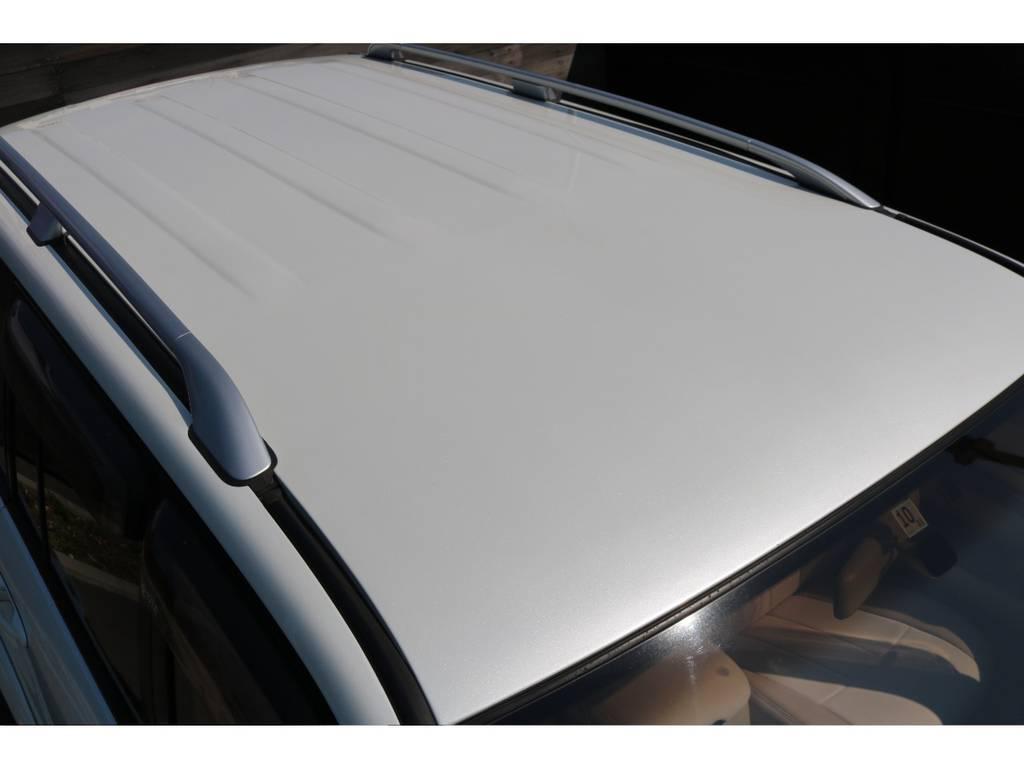 シルバーカラードルーフレール!ルーフの状態もGOOD! | トヨタ ランドクルーザー100 4.7 VXリミテッド 4WD