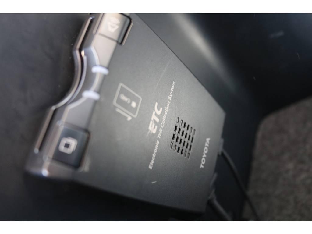 ETC車載器も完備!高速道路も楽々ですよ! | トヨタ ランドクルーザー100 4.7 VXリミテッド 4WD