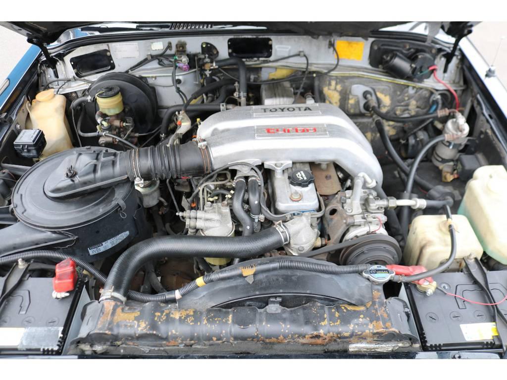 12H-Tのディーゼルターボエンジン!パワフルな走りがポイント!