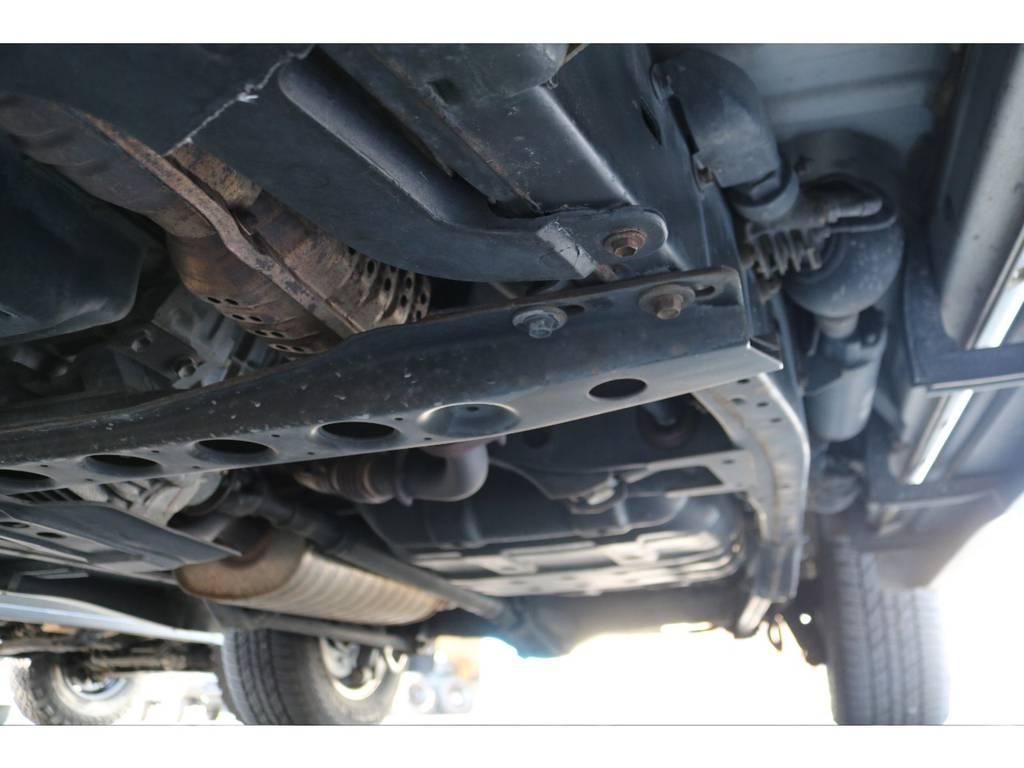 特に目立った錆やダメージもありません! | トヨタ ランドクルーザー100 4.7 VXリミテッド Gセレクション 4WD