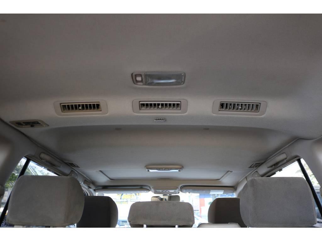 ダブルエアコン車ですので、快適にお乗り頂けます! | トヨタ ランドクルーザー100 4.7 VXリミテッド Gセレクション 4WD
