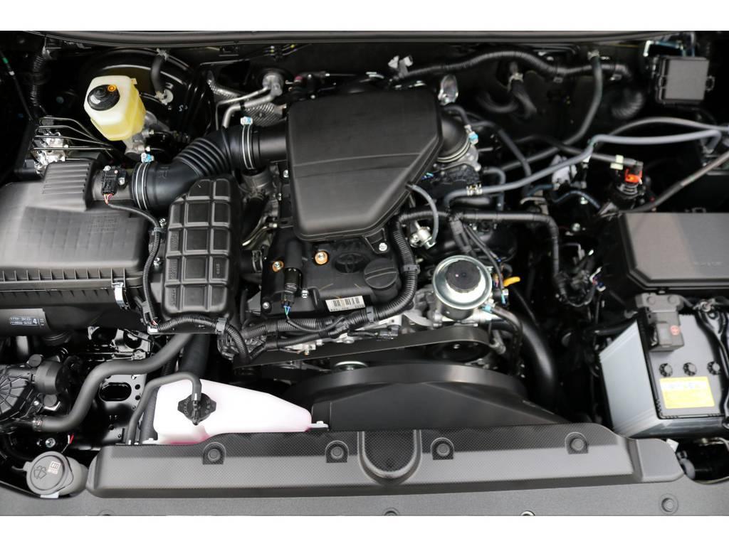2TRガソリンエンジン!スムーズな走りと経済性に優れたエンジンです! | トヨタ ランドクルーザープラド 2.7 TX Lパッケージ 4WD 7人