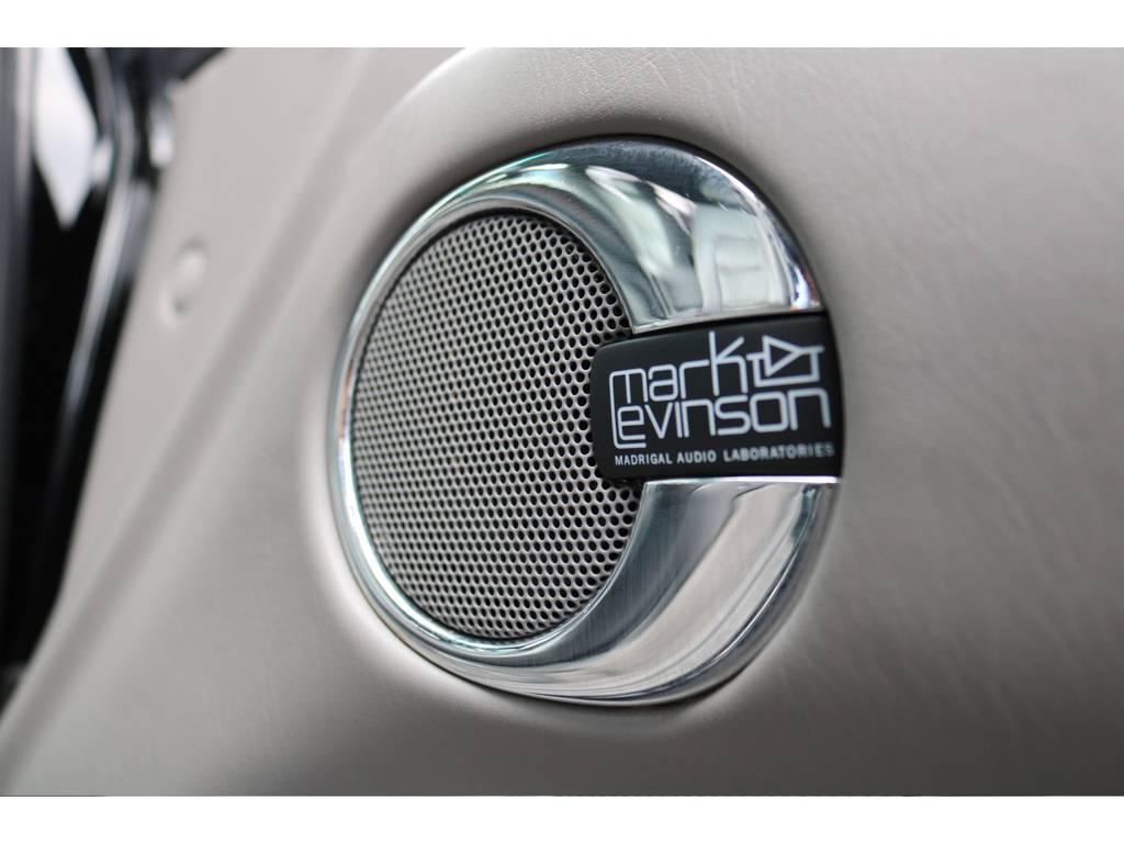 高音質なサウンドが楽しめる、マークレビンソン・スピーカーシステム! | トヨタ ランドクルーザーシグナス 4.7 インテリアセレクション 4WD