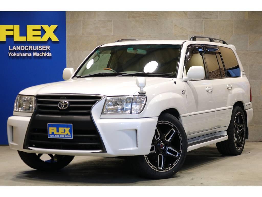 最上級グレードGセレクション!中期モデル5速AT!新品LEXXEL22インチAW&タイヤ!ゴールドマンクルーズグリルバンパー!社外ヘッドライト!社外LEDテール&サイドマーカー!