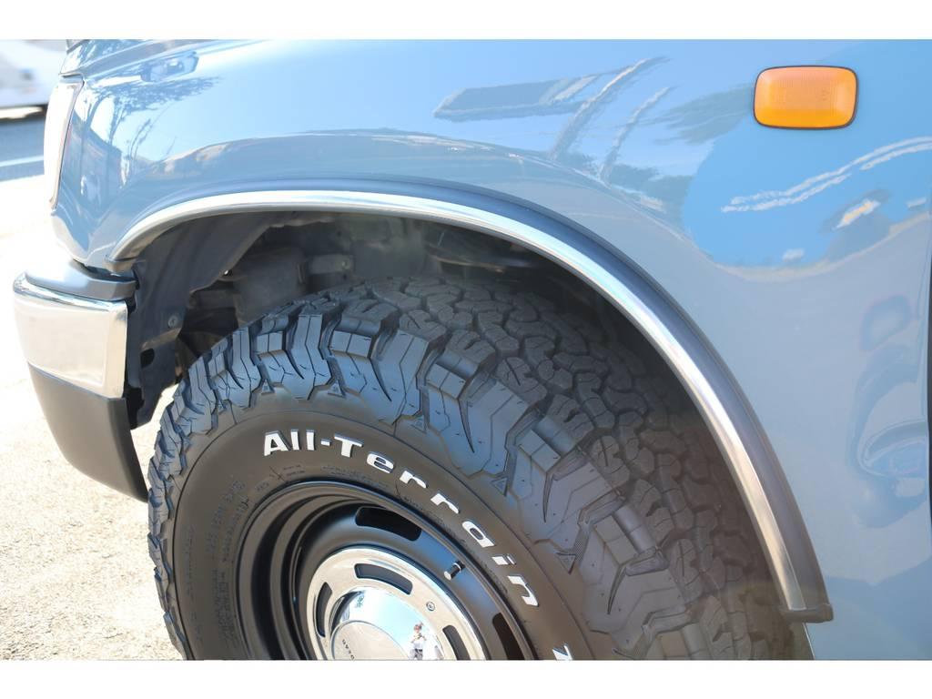 4ランナー用フェンダーメッキモールを、新品で装着致しました! | トヨタ ハイラックスサーフ 2.7 SSR-X Vセレクション 4WD