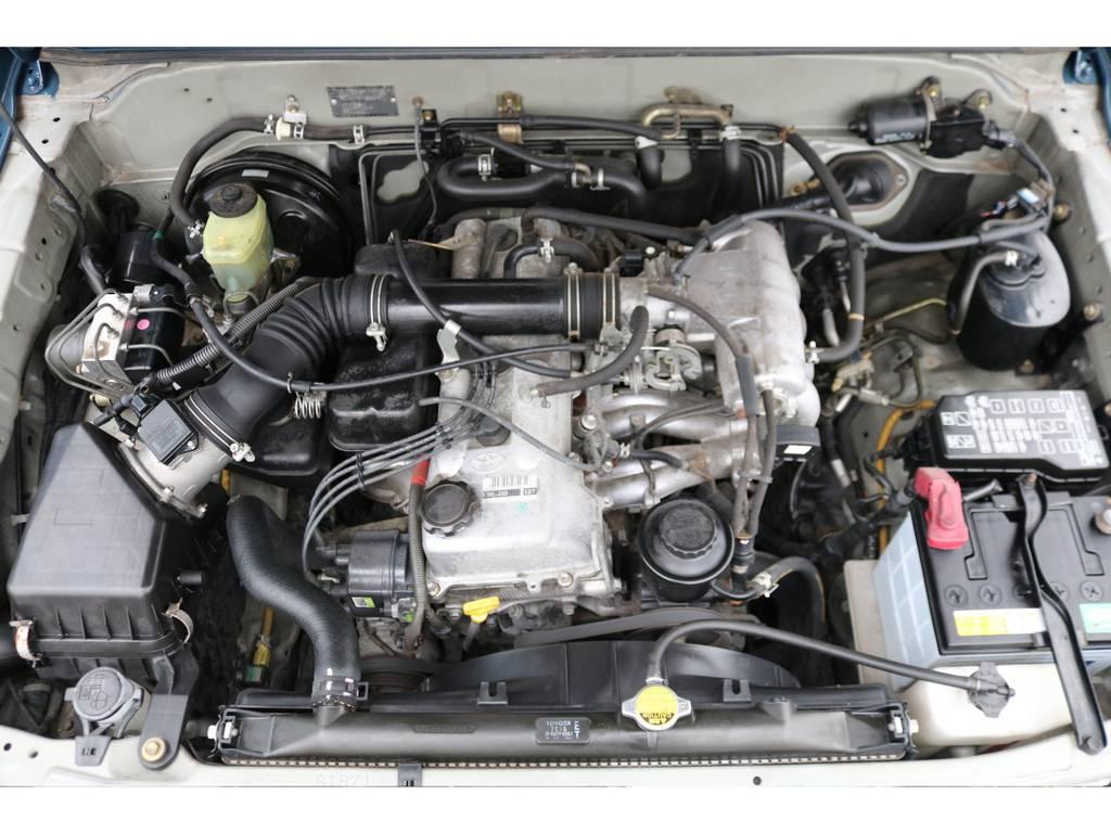 経済性に優れた2700ccエンジンモデル!タイミングチェーン式ですので、10万キロ毎の交換も不要です!