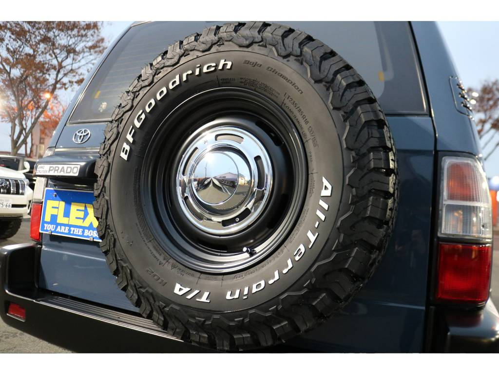 背面タイヤもDEAN16AW&BFグッドリッチ235ATタイヤに変更しました!