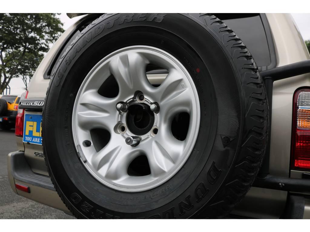 背面付きの車両になります! | トヨタ ハイラックスサーフ 2.7 SSR-G 4WD