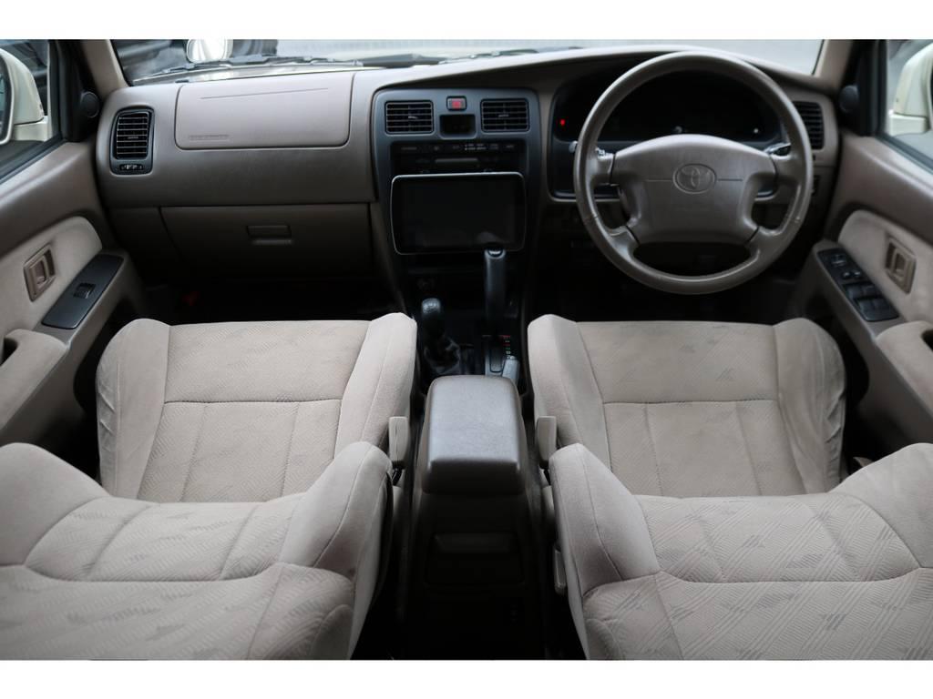 SSRーGのベージュ内装!綺麗な状態を維持しております! | トヨタ ハイラックスサーフ 2.7 SSR-G 4WD