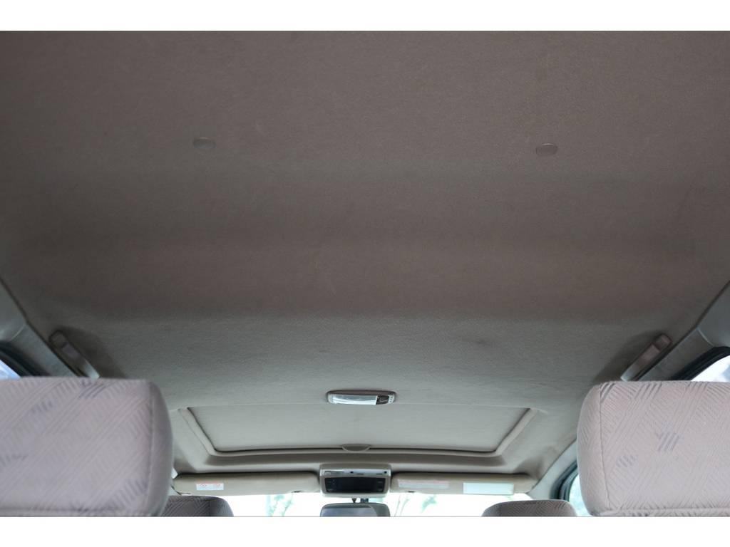 天井もご覧の通り綺麗な状態です! | トヨタ ハイラックスサーフ 2.7 SSR-G 4WD