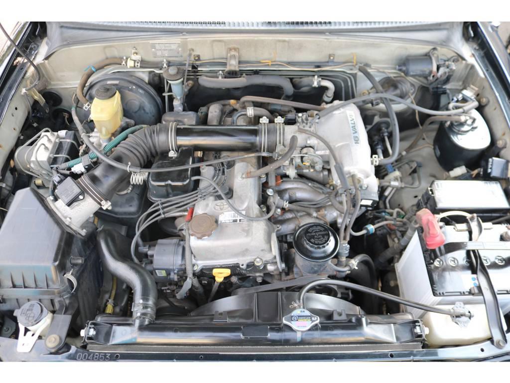 経済性に優れた2700ccエンジン!5速マニュアルとの組み合わせで、キビキビとした走りを実現!