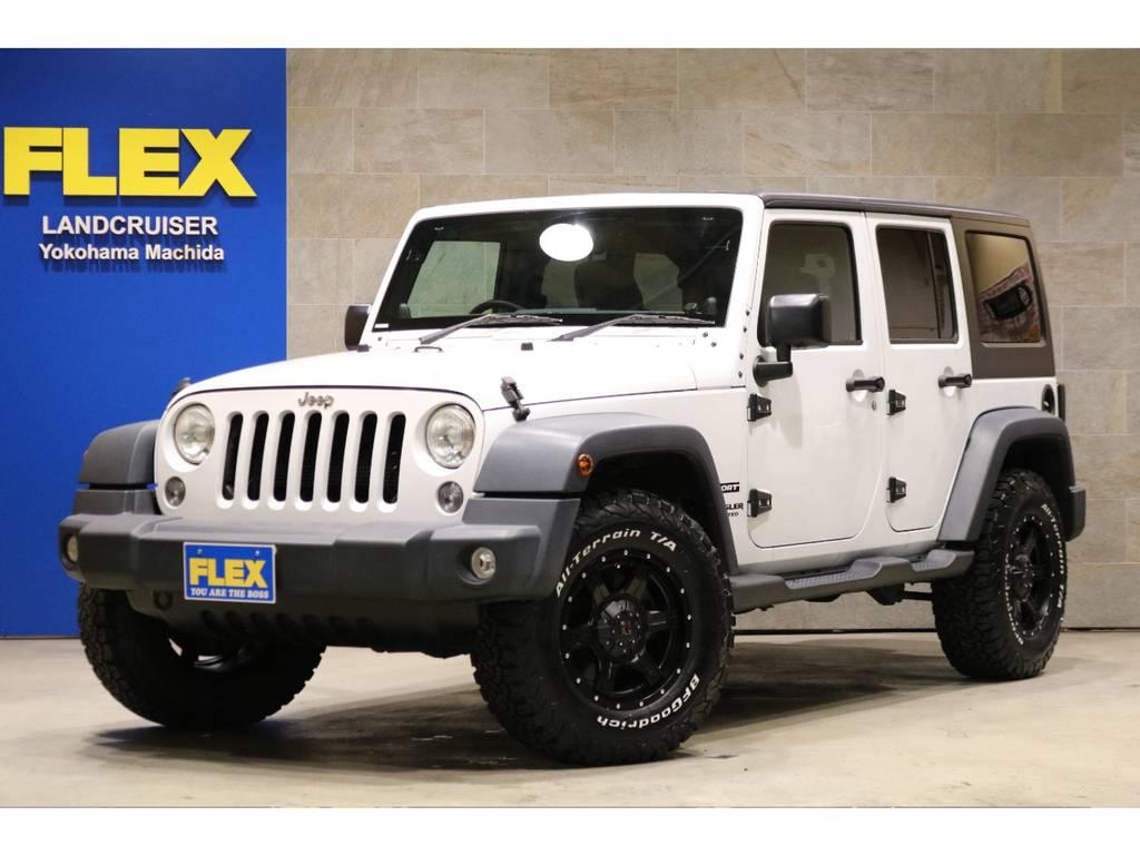 後期モデルホワイトカラー!低走行2.5万キロ台!新品LEXXEL17インチAW×5本!