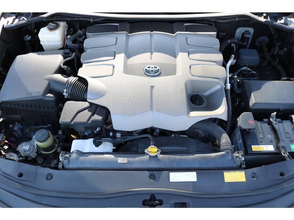 V型8気筒のパワフルなエンジン!コンディションも良好です!