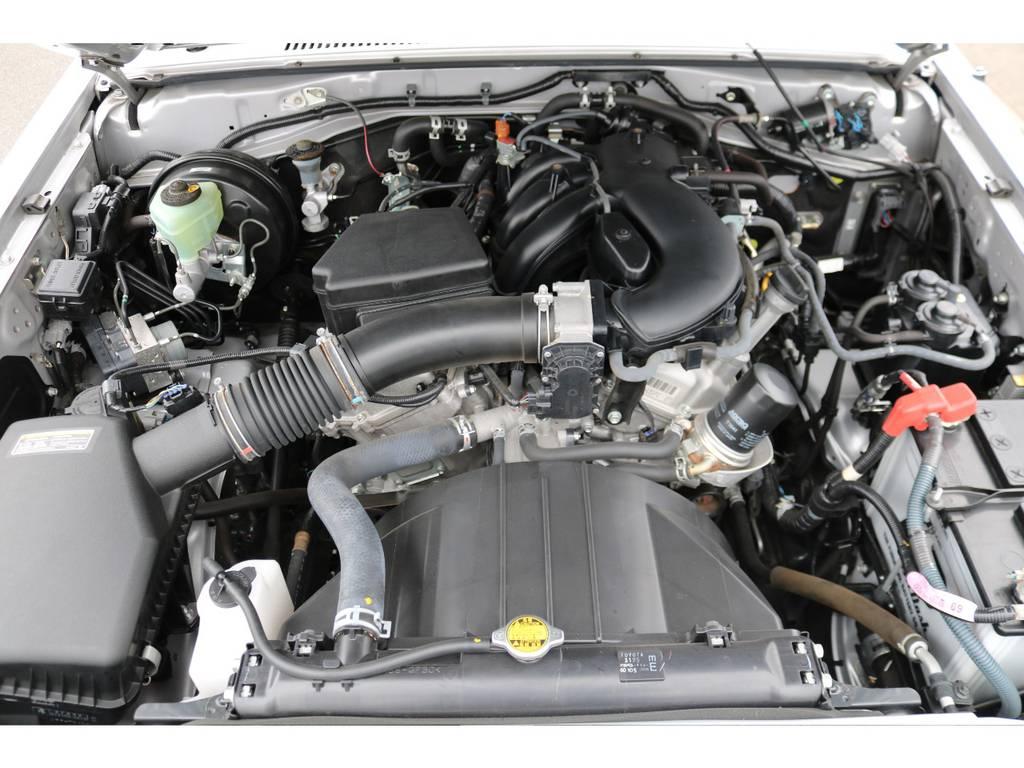 V6・4000ccの1GRエンジン!トルクフルな走りが楽しめますよ!