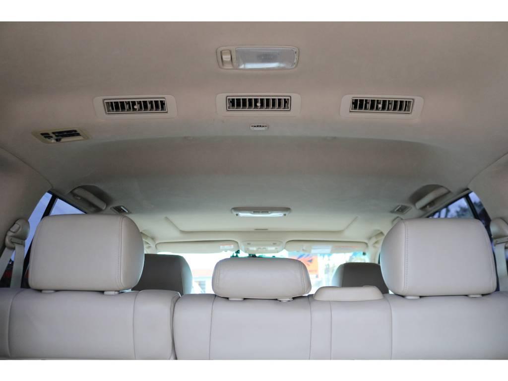 シグナス専用天張り!ダブルエアコン車ですので、室内は快適です!