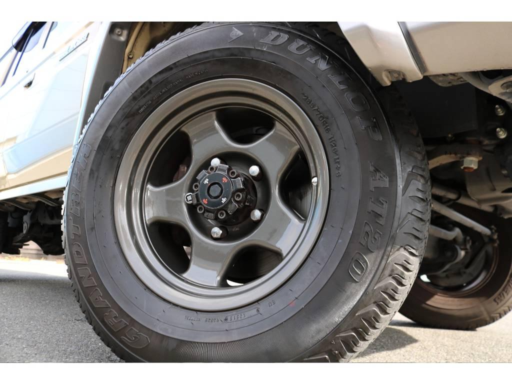 高額なブラッドレイブイ16AW&ダンロップ265ATタイヤの組み合わせ!