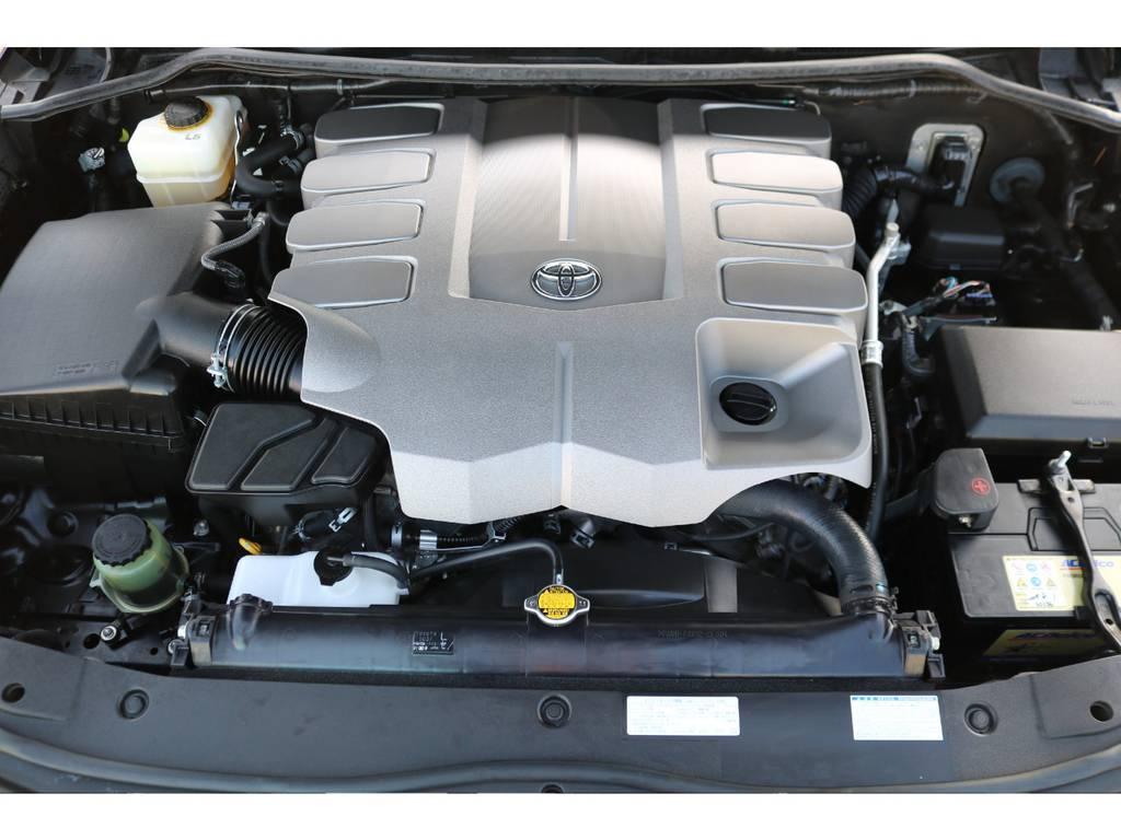 V8・4600ccのハイパワーユニット!パワーはもちろん静寂性も文句無し!