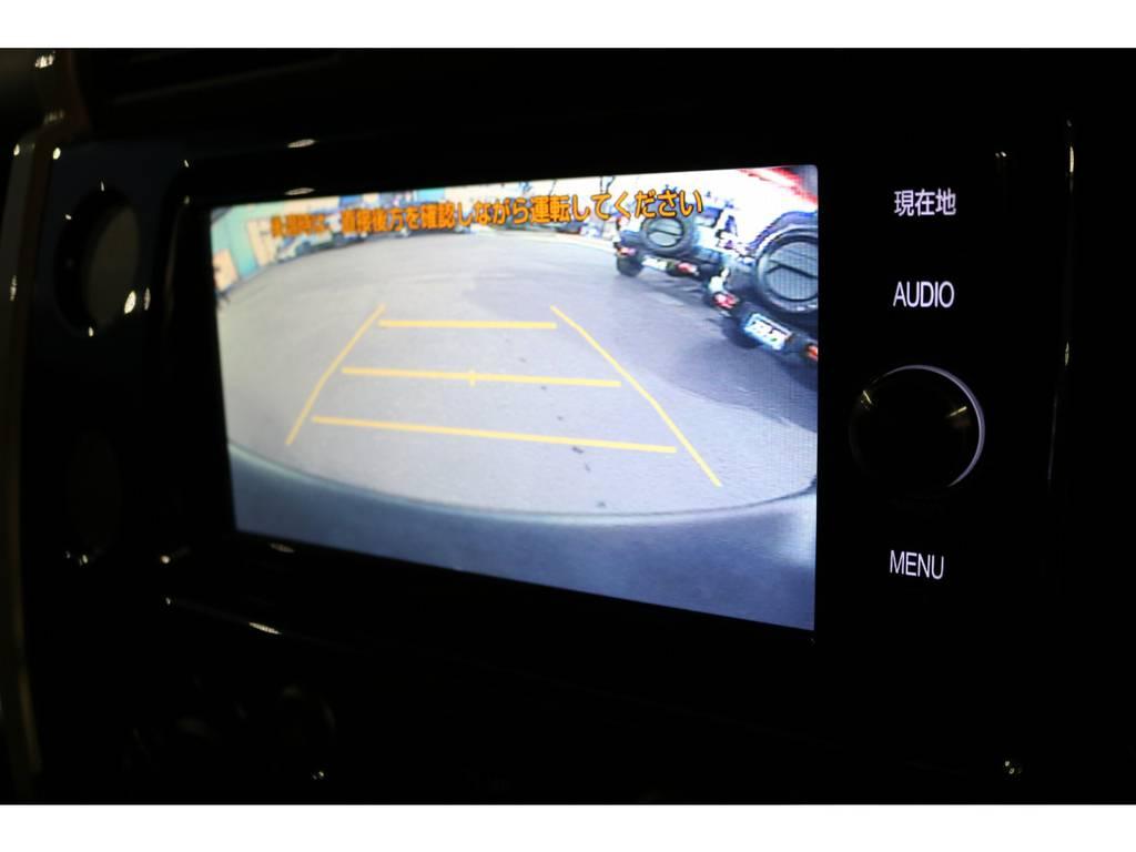 あると便利なバックカメラ付き!駐車を安心ですね!
