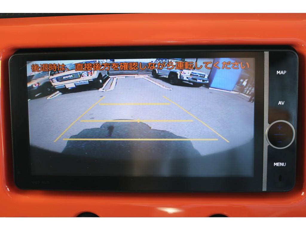 あると嬉しい純正HDナビ装備!バックカメラも付いており、車庫入れも安心ですね!