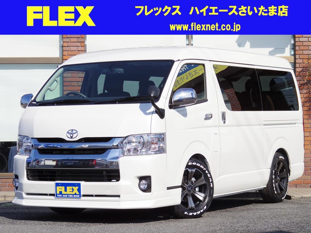 【VIPパッケージ】新車!ハイエース!ワゴンGL!ガソリン2WD!