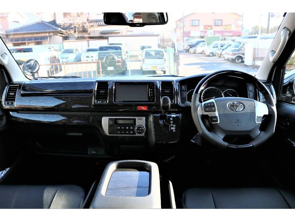 内外装ともにカスタム済みのお買い得な1台です! | トヨタ ハイエースバン 2.0 スーパーGL ロング TSSP付