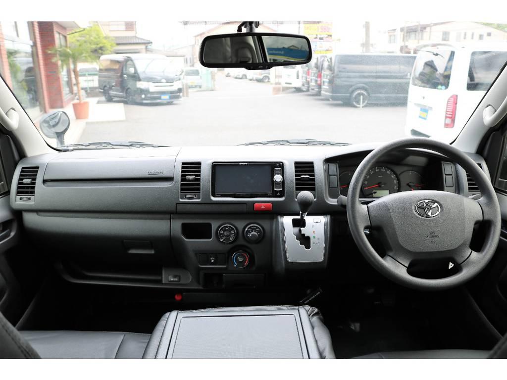 内外装ともにカスタム済みのお買い得な1台です! | トヨタ ハイエースバン 2.0 DX ロング GLパッケージ S-GL 2ndシート