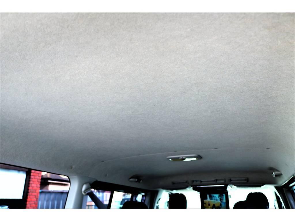 年式、走行距離を全く感じさせない天張り!とてもキレイです! | トヨタ レジアスエース 2.0 スーパーGL ロングボディ 2型