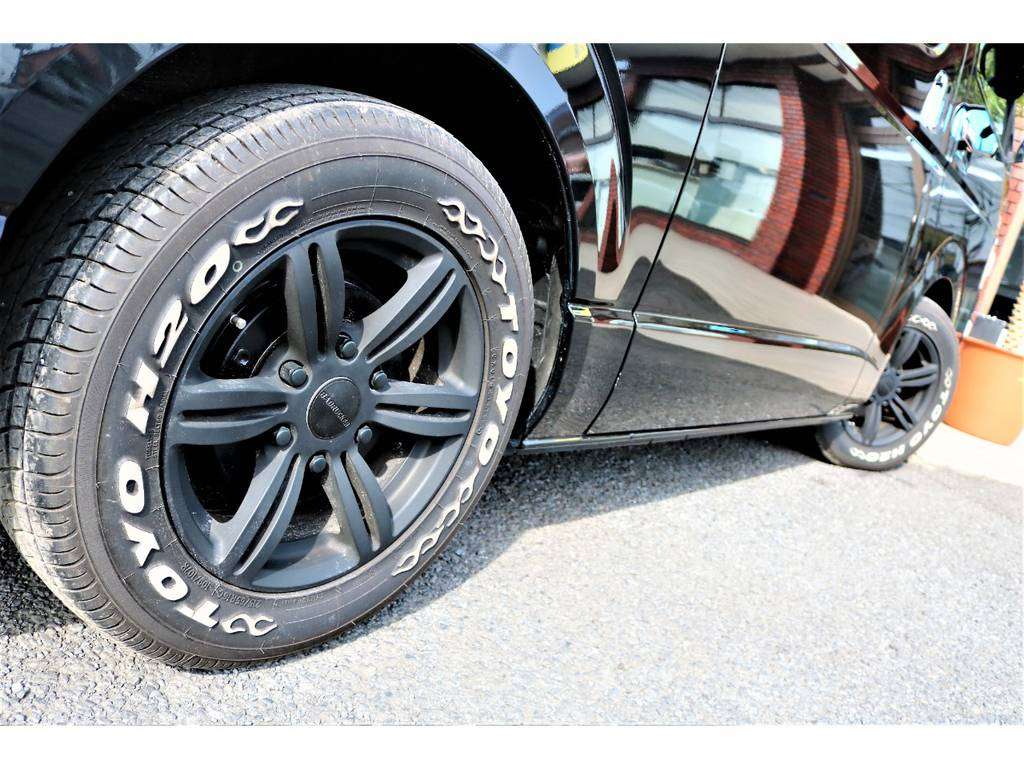 バッドラッカー、TOYOタイヤのマッチ度バツグン! | トヨタ レジアスエース 2.0 スーパーGL ロングボディ 2型
