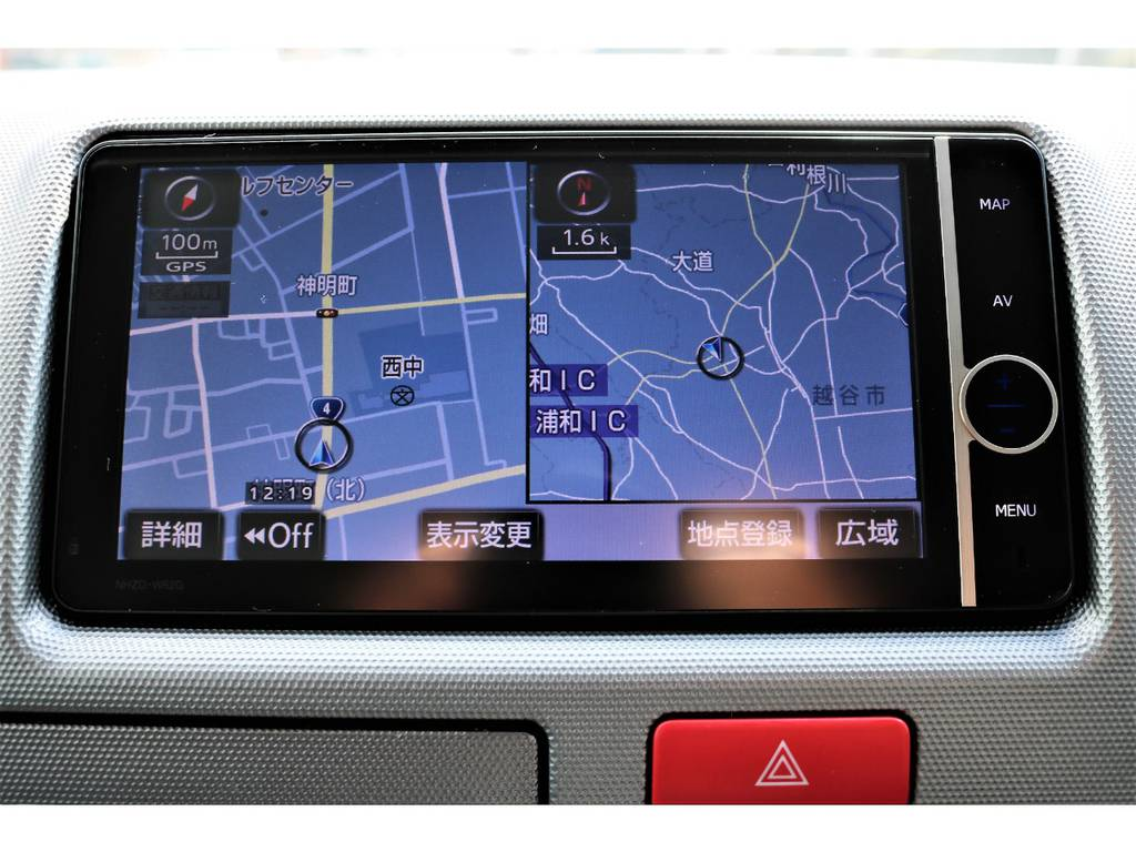見やすい且つ扱いやすいナビです! | トヨタ ハイエースバン 3.0 スーパーGL ロング ディーゼルターボ プライムセレクション