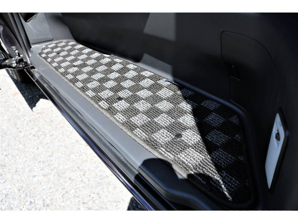 アルティナ製ステップマット! | トヨタ ハイエースバン 3.0 スーパーGL ロング ディーゼルターボ プライムセレクション