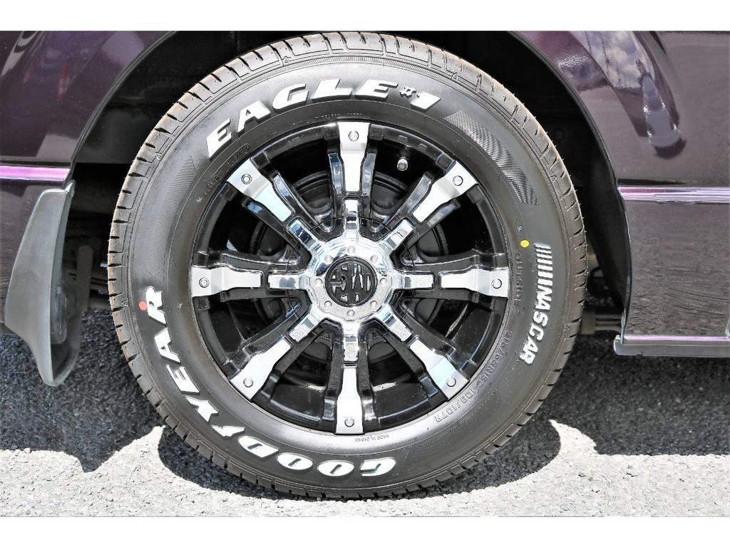 16インチMGビースト&ナスカータイヤ! | トヨタ ハイエースバン 3.0 スーパーGL ロング ディーゼルターボ プライムセレクション