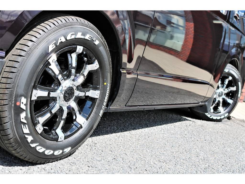ボディラインとホイールの相性バツグンです! | トヨタ ハイエースバン 3.0 スーパーGL ロング ディーゼルターボ プライムセレクション