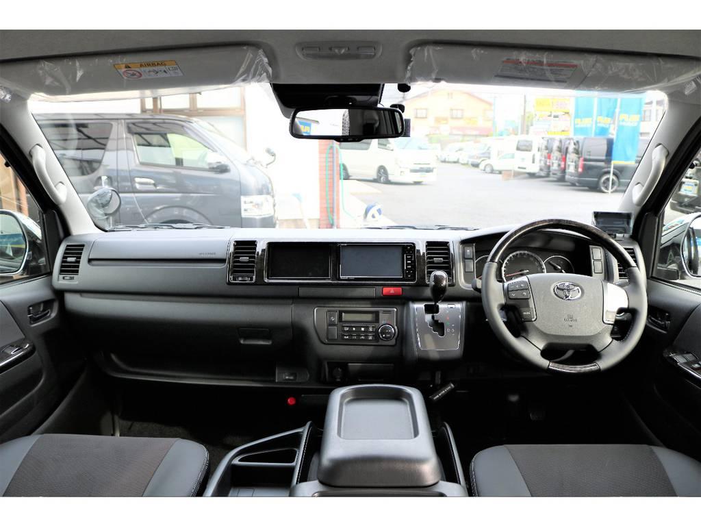 内外装ともにカスタム済みのお買い得な1台です! | トヨタ ハイエースバン 2.7 スーパーGL ダークプライム ワイド ミドルルーフ ロングボディ 4WD