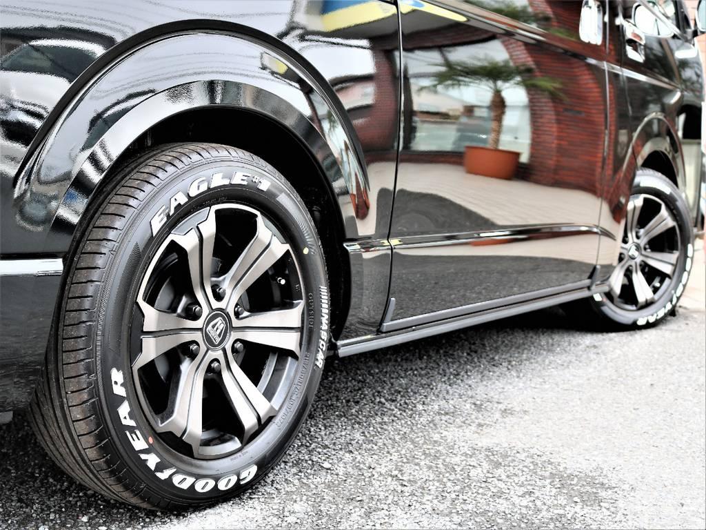 1.5インチローダウン!もちろん構造変更済みです! | トヨタ ハイエースバン 2.7 スーパーGL ダークプライム ワイド ミドルルーフ ロングボディ 4WD