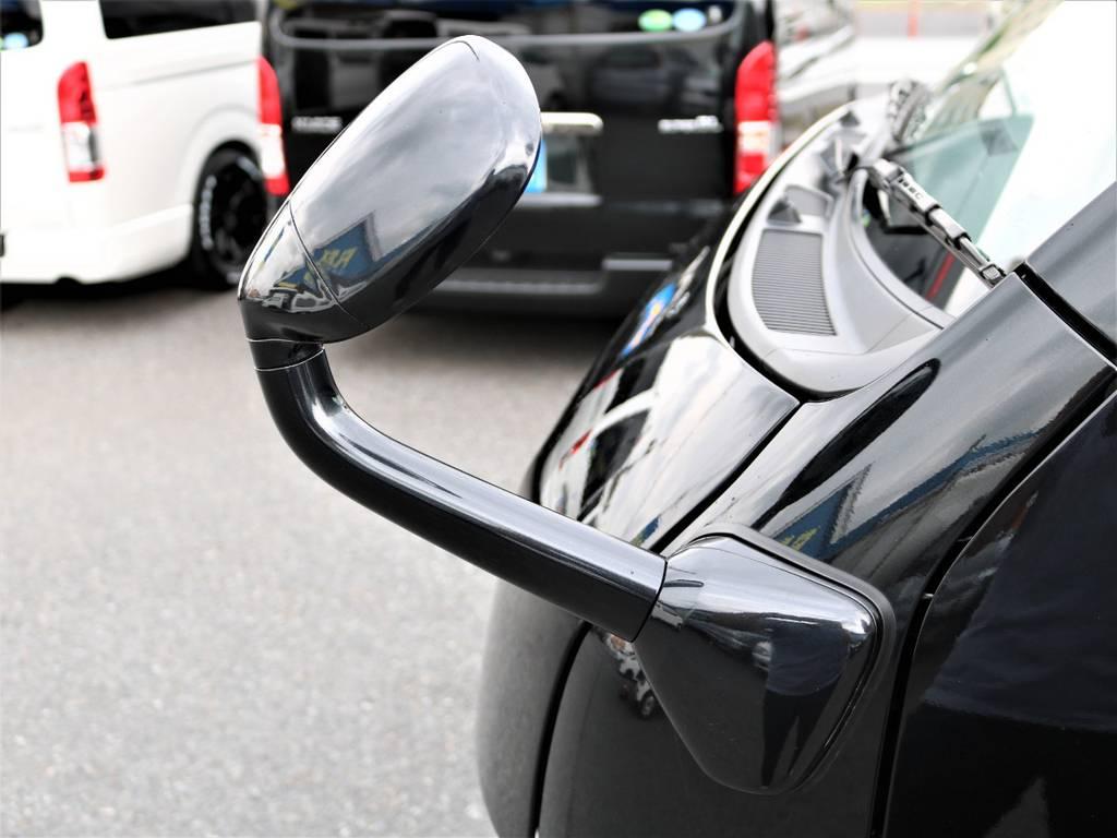 こだわりのガッツミラーも同色ペイントを施工しました! | トヨタ ハイエースバン 2.0 スーパーGL ロング ネオクラシックパッケージ