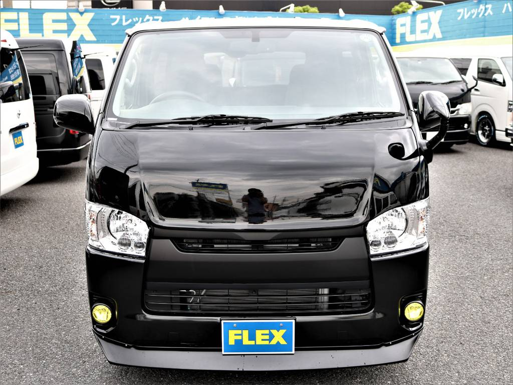 ハイエースの事ならFLEXハイエースさいたま店にお任せください!アフターサービスも頑張ります! | トヨタ ハイエースバン 2.0 スーパーGL ロング ネオクラシックパッケージ