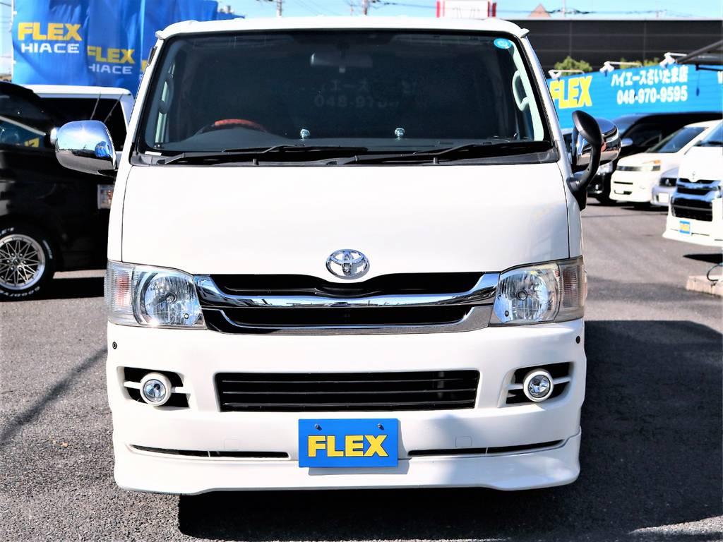 ハイエースの事ならFLEXハイエースさいたま店にお任せください!アフターサービスも頑張ります! | トヨタ ハイエースバン 2.0 スーパーGL ロング 2型 低走行!