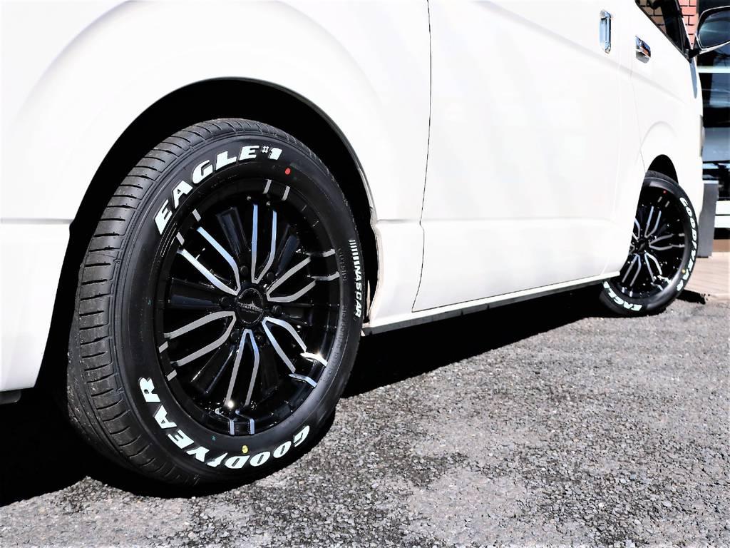 新品パーツを使用し、2インチローダウン済みです! | トヨタ ハイエースバン 2.0 スーパーGL ロング 2型 低走行!