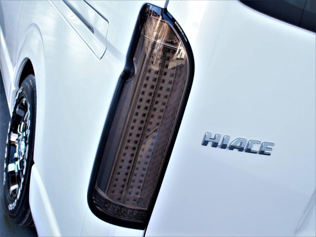 ステラファイブLEDテールランプ! | トヨタ ハイエース 2.7 GL ロング ミドルルーフ