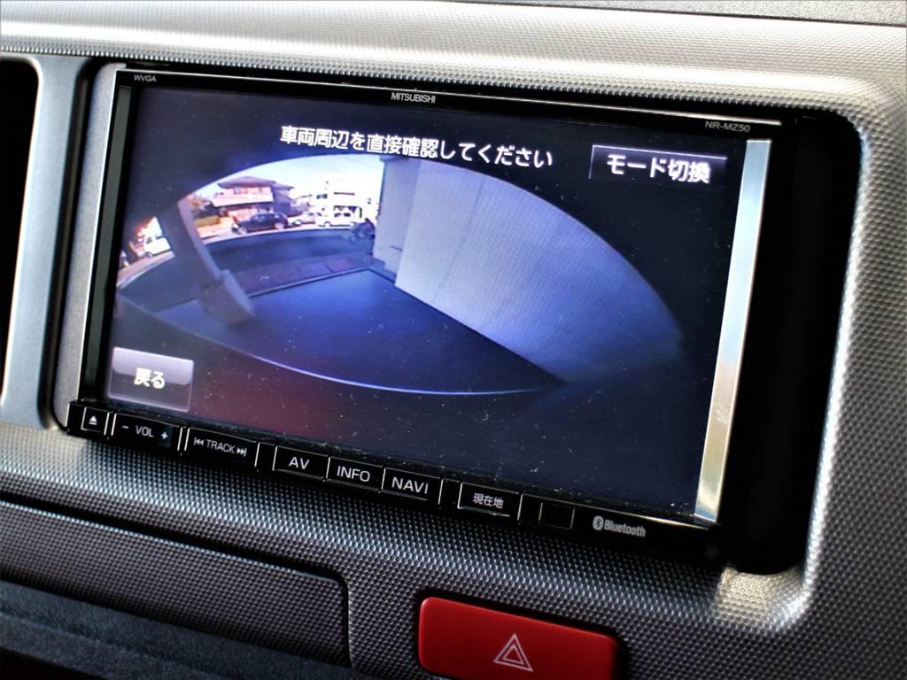 バックモニター付き! | トヨタ ハイエース 2.7 GL ロング ミドルルーフ