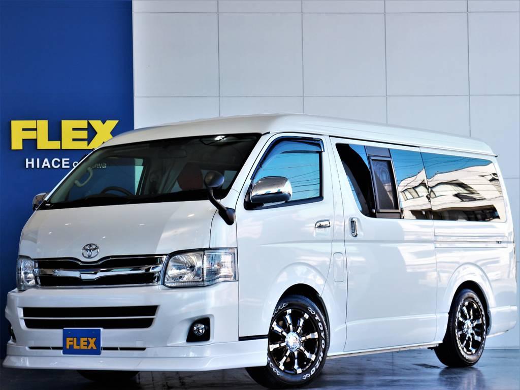 FLEXハイエースさいたま桶川店 お問い合わせはこちらまで 0487799122 | トヨタ ハイエース 2.7 GL ロング ミドルルーフ