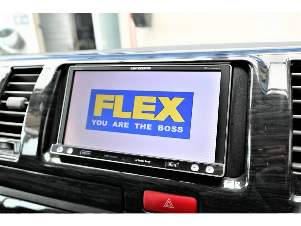 パイオニア製フルセグSDナビ! | トヨタ ハイエースバン 2.0 スーパーGL ロング ワンオーナー下取直販