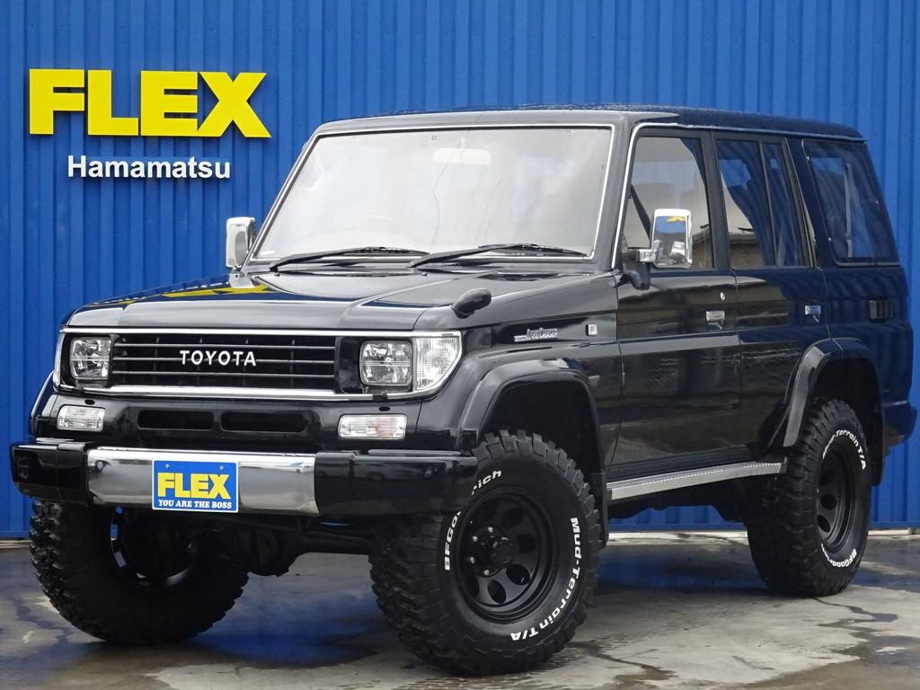 78プラドSX ブラックコンプリート 2インチリフトUP 新品AW&タイヤ 全国陸送無料