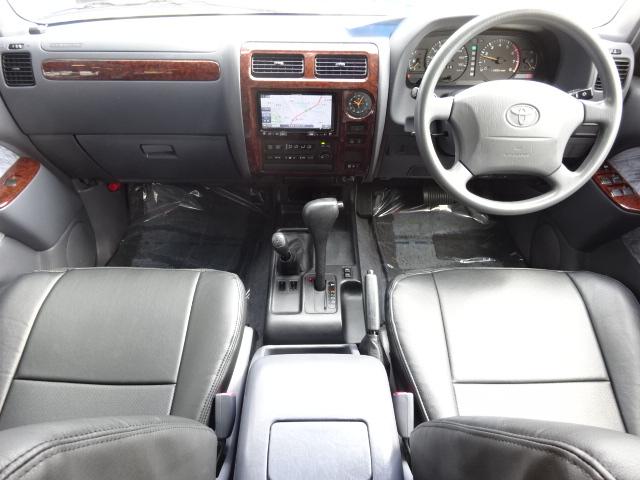 追加カスタムも勿論可能です。お気軽に仰って下さい。 | トヨタ ランドクルーザープラド 2.7 TX リミテッド 4WD ベージュオールP