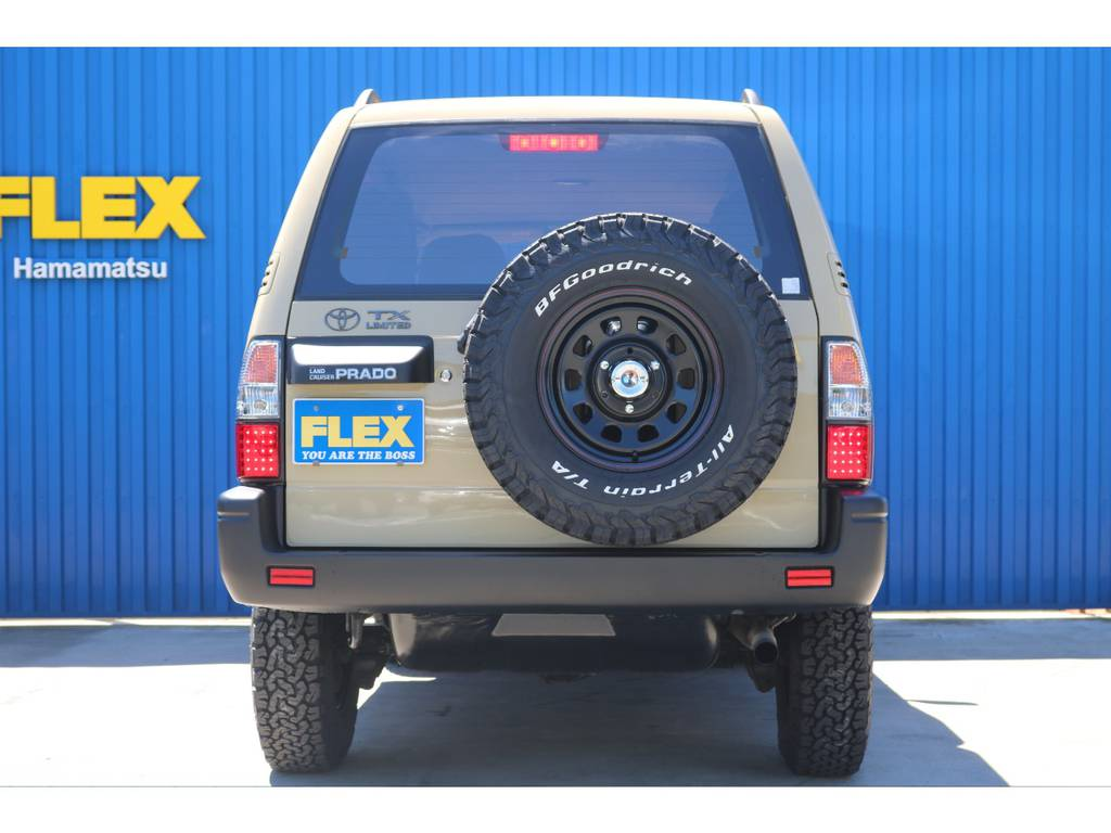 | トヨタ ランドクルーザープラド 2.7 TX リミテッド 4WD ベージュオールP