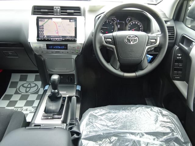 エンジンのパワーを余すところなく駆動輪に伝える【6速】オートマチックトランスミッション。 | トヨタ ランドクルーザープラド 2.8 TX ディーゼルターボ 4WD 新車カスタム