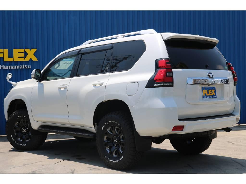 燃費のカタログ数値は【11.8km/L】燃費がとても良いですよね。 | トヨタ ランドクルーザープラド 2.8 TX ディーゼルターボ 4WD 新車カスタム