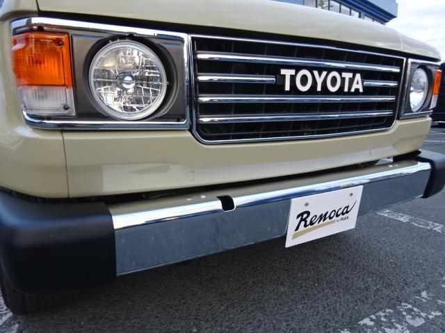 丸目にするだけで印象もガラッとお洒落に!! | トヨタ ランドクルーザー100 4.7 VXリミテッド 4WD 後期型 Renoca106  丸目